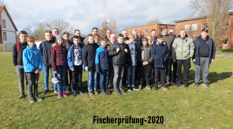 Erfolgreiche Teilnehmer bei der Fischerprüfung 2020