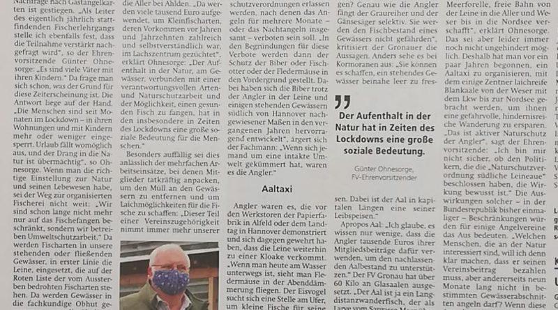 """""""Angler betreiben Naturschutz"""""""